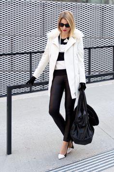 Mantel von H&M, Hose von Pimkie, Schuhe von Buffalo - Mehr Fotos gibt's auf meinem Blog.