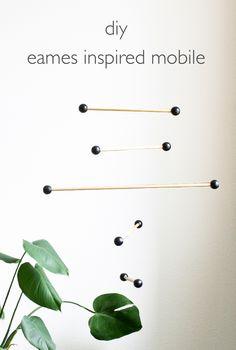 DIY Eames Inspired Mobile