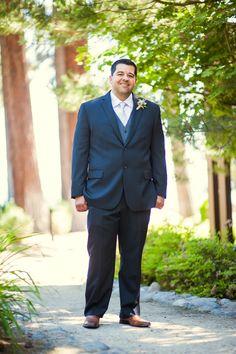 Formal Groom at Outdoor Lake Tahoe Wedding