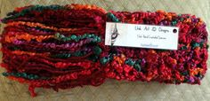 Warm  and chunky multi-colored scarf $29.99