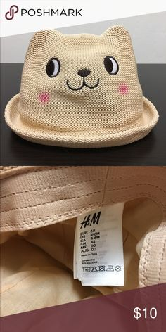 H&M Kids hat Cute kitty hat. Excellent condition H&M Accessories Hats