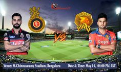 IPL 2016: Royal Challengers Bangalore Vs Gujarat Lions #IPL #IPL2016 #IPLT20 #VIVOIPL