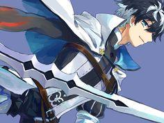 Charlemagne【Fate/Extella】 Shirou Emiya, Fate Characters, Miyamoto Musashi, Fate Servants, Dragon Knight, Fate Zero, A Cartoon, Fate Stay Night, Anime Guys