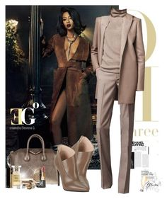 """""""The scotch & myself"""" by eleonoragocevska ❤ liked on Polyvore featuring Sergio Rossi, Givenchy, Clarins, Tom Ford, Yves Saint Laurent, Miu Miu, Rolex, Chanel, Blue Nile and David Yurman"""
