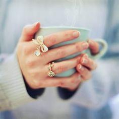 feminine rings