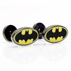 batman cufflinks! perfect for him
