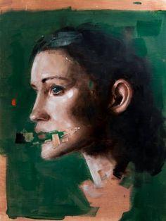 "Saatchi Art Artist Davide Cambria; Painting, ""Head Study 2"" #art"