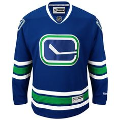 Vancouver Canucks Reebok Premier Jersey Third 'Stick' Mens XL NHL New with Tags | eBay