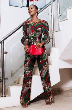 Latest Ankara Jumpsuit To Try in October - Fashion Ruk African Fashion Designers, African Inspired Fashion, African Print Fashion, Africa Fashion, African Fashion Dresses, Fashion Prints, Nigerian Fashion, Ghanaian Fashion, African Prints