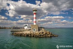 The lighthouse in the port of Burgas, Black Sea, Bulgaria -  Andrey Andreev Travel and Photography