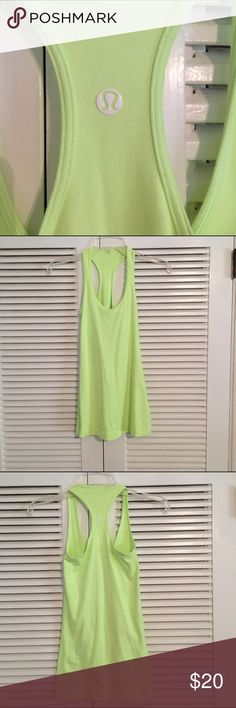 Lululemon Clear mint cool racerback Super cute color. Worn twice. No snags or pills lululemon athletica Tops Tank Tops