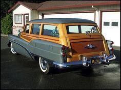 1953 Buick Roadmaster Station Wagon