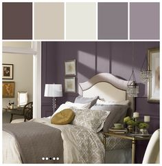 Home tour the entry wall colors walls and hgtv for Exclusive plum bedroom