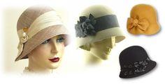 chapeus antigos femininos - Pesquisa Google