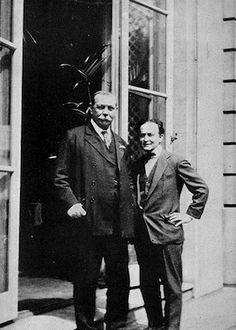 Arthur Conan Doyle and Harry Houdini