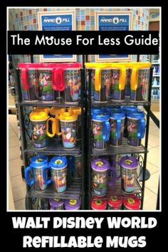 Walt Disney World Refillable Mugs
