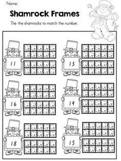 """""""Shamrock Frames"""" (free; from United Teaching on TpT)"""