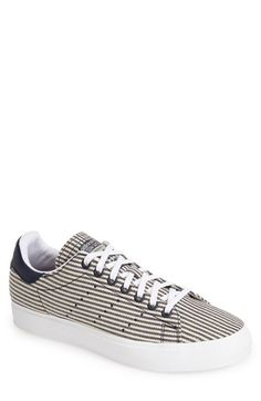 adidas 'Stan Smith' Canvas Stripe Sneaker (Men) available at #Nordstrom