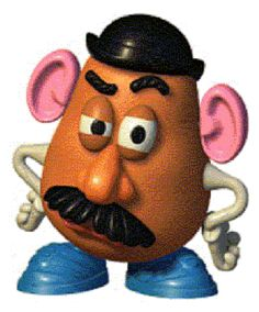 Image result for Mr potato head bump
