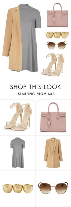 """Sin título #251"" by hannymontanita on Polyvore featuring moda, Yves Saint Laurent, Topshop, Miss Selfridge y Michael Kors"