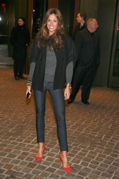 Kelly Bensimon. I do think she is an attractive woman.