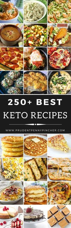 250 Best Keto Recipes #keto #lowcarbdiet #lowcarb