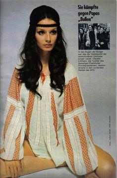 German Yasmin July 1972 : Uschi Obermaier by Guido Mangold.