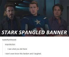 When they devised the perfect pun. | 24 Times Tumblr Had Hilariously Great Ideas For The Avengers