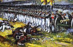 En las alturas de Borodino. El Regimiento Kara de la Guardia Real de Lituania Alexander Chagadaev