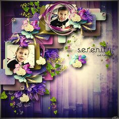 Purple Dreams by Goldensun Design    template Love steps 4.by Tinci Designs