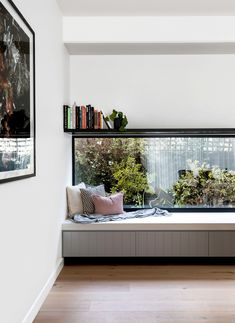 Milroy Street House: Complete Overhaul of an Edwardian House Edwardian House, Sweet Home, Street House, Living Room Windows, Architect House, Australian Homes, White Walls, Contemporary Design, Contemporary Windows