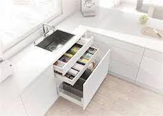 Afbeeldingsresultaat voor hoekkast keuken oplossing