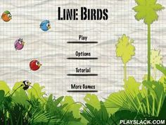 Line Birds  Android Game - playslack.com , Line Birds - a funny game, about atomic scores attempting  to fly through the world full of threat. assist them to do it. In the activities of travelling  there will be brand-new birds, everyone with their own features.