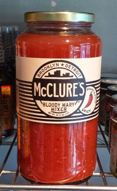 McClure's Vegan Bloody Mary Mix #vegan