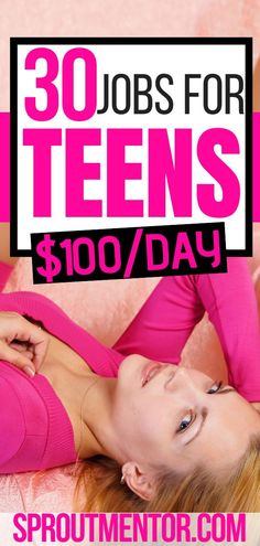 Are you a teenager who want to make money on the side? Here are 30 online jobs for teens who want to work from home and still make extra cash every month.  #Teens #teenagers #onlinejobsforteens #jobsforteens #summerjobsforteens #onlinejobsforteensunder16 #onlinejobsforteenshighschool #onlinejobs #workfromhomejobs #makemoneyonline #workathome #workfromhome #sidehustles