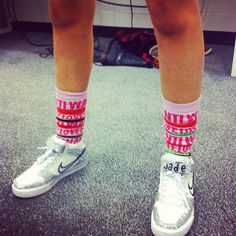 Snazzy socks. Mixers HQ x
