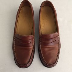 Cole Haan Leather Moc/loafers Loafers worn only a few times. No longer fit. Women's 7 1/2. Great fit! Very comfortable! Cole Haan Shoes Flats & Loafers