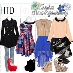 How To Dress: Like Aria Montgomery
