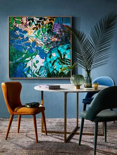 "Get wonderful pointers on ""abstract artists"". They are accessible for you on our website. Artwork Prints, Framed Prints, Framed Artwork, Mural Floral, Cuadros Diy, Art Et Design, Greenhouse Interiors, Fine Art Paper, Painting Inspiration"