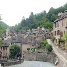 Conques, GR65, France