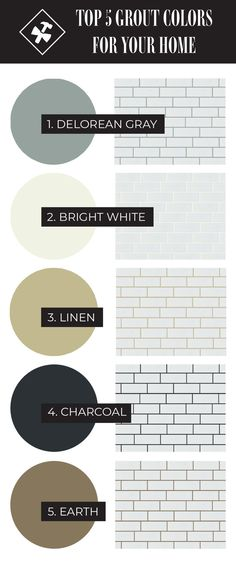 The grout color you choose can give your tile a who different look. Lighter grout looks cleaner and brighter while darker grout adds more texture and depth. Classic Kitchen, Farmhouse Style Kitchen, Rustic Kitchen, Kitchen Redo, Kitchen Design, Kitchen Remodel, Modern Farmhouse, Farmhouse Kitchens, Remodel Bathroom