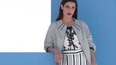 Badoo Presents Tonia Sotiropoulou! Fashion Lookbook, Kimono Top, Presents, Blazer, Jackets, Collection, Tops, Women, Gifts