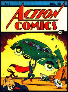 The Holy Grail of all comic books...  Superman Action Comics - No.1