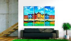 Obraz na plátně - Sunny morning in Venice. Banksy, Venice, Picture Frames, Canvas Prints, Artwork, Room, Pictures, Painting, Inspiration