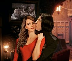 Snamione : Your Kisses by OpalChalice on DeviantArt Snape And Hermione, Alan Rickman Severus Snape, Boys Don't Cry, Harry Potter Fan Art, My One And Only, User Profile, Hogwarts, Deviantart, Couple Photos