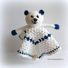 Usínáček pro šibálka – Krampolínka Teddy Bear, Baby Shower, Toys, Crochet, Animals, Amigurumi, Babyshower, Activity Toys, Animales