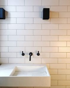 Metro xl flat white matt wall tiles - tons of tiles metro tiles bat Metro Tiles Kitchen, Metro Tiles Bathroom, White Subway Tile Bathroom, White Wall Tiles, Kitchen Wall Tiles, Bathroom Faucets, Bathroom Before After, Tiles Uk, Small Toilet