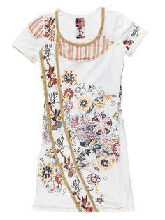 Signet dress, white. Floral Tops, Dresses, Women, Fashion, Vestidos, Moda, Top Flowers, Fashion Styles, Dress