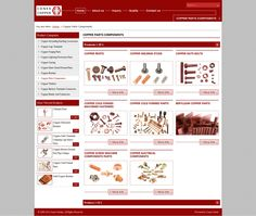 Copper parts components by conexcoppe via slideshare