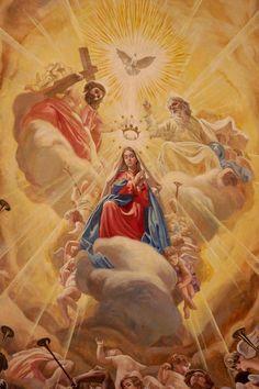 La Coronación de la Madre de Dios